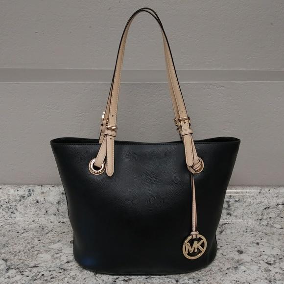 Michael Kors Handbags - Michael kors black tote bag